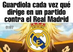 Enlace a Solo es cuestión de ver los números de Guardiola contra el Madrid