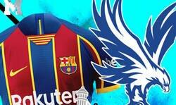 Enlace a ¿Alguien me quiere explicar por qué el Barça esta copiando los diseños del Crystal Palace?