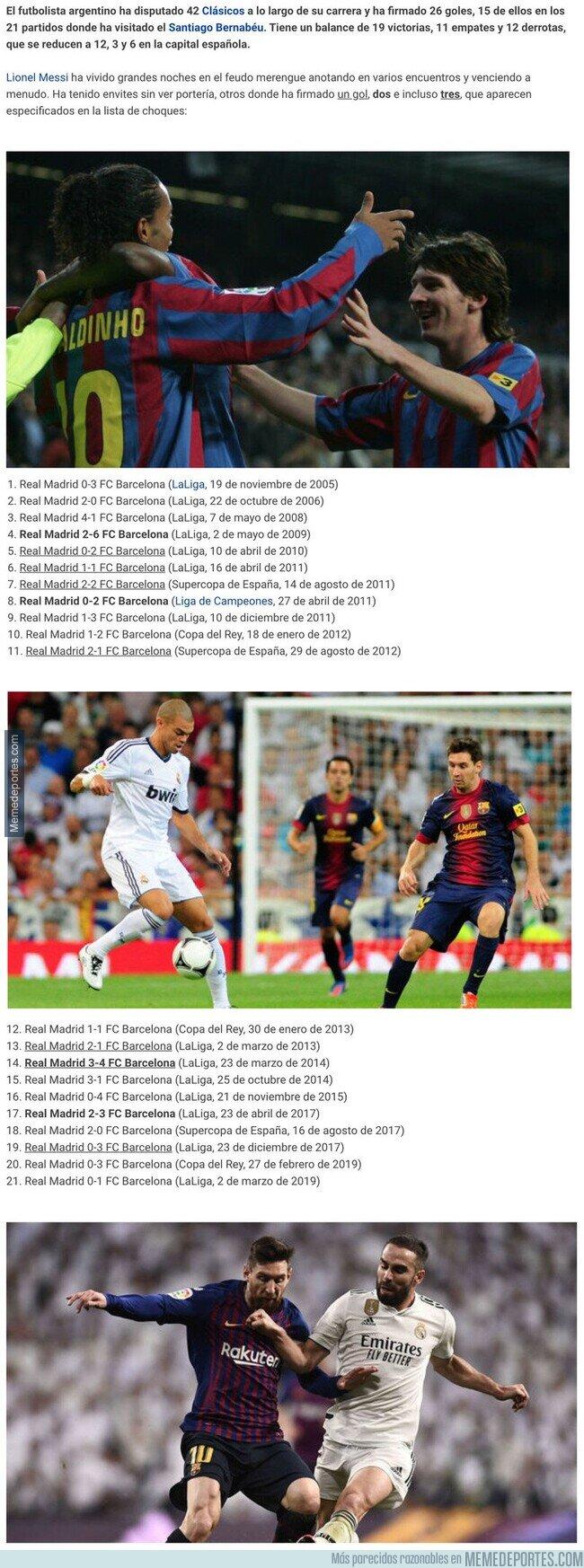 1099518 - La estadística definitiva que confirma a Messi como el auténtico Rey de los Clásicos