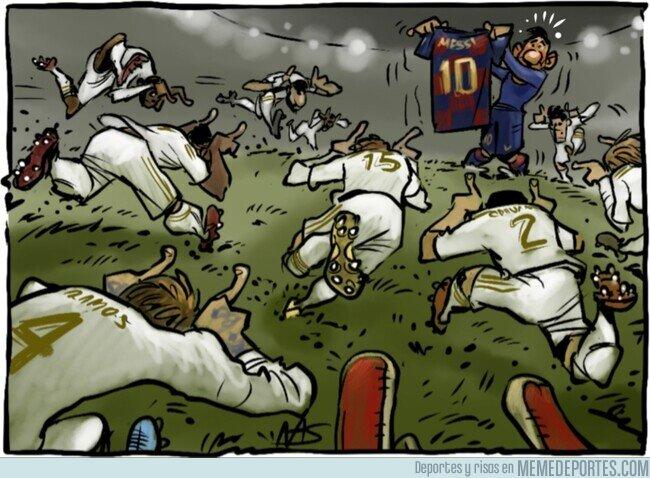 1099568 - ¿Toreará Messi al equipo blanco? Por @yesnocse