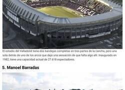 Enlace a Cinco estadios cuya construcción parece estar incompleta