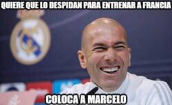 Enlace a Zidane es muy astuto