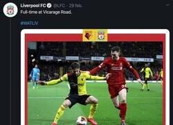 Enlace a El Leipzig 'trolea' al Liverpool con esta gran respuesta tras acabar su racha de victorias en la Premier