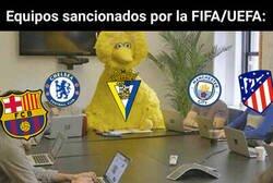 Enlace a La FIFA sanciona al Cádiz sin fichar, como si fuera una gran potencia económica