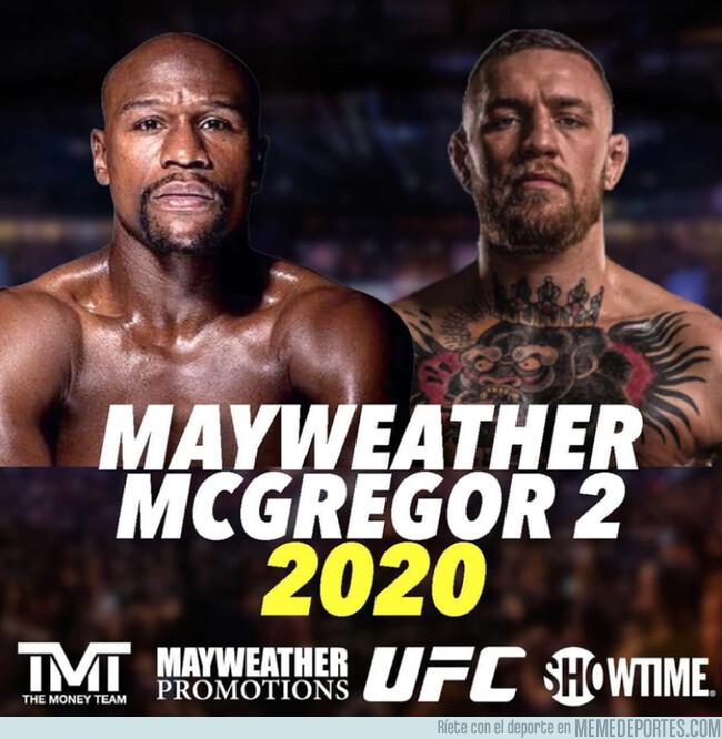 1100112 - Este es el dineral que pide Mayweather para volver al ring y luchar contra McGregor o Khabib