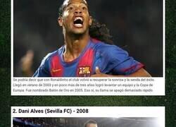 Enlace a Estos son por lejos los mejores fichajes que ha hecho el Barça en toda su historia