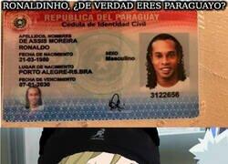 Enlace a La nacionalidad de Ronaldinho no cuela