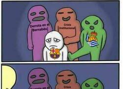 Enlace a El VAR salvó al Barça de otra decepción más