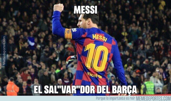 1100196 - Messi el salVARdor del Barça