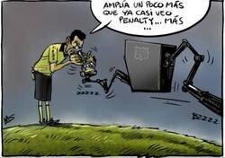 Enlace a El extraño protocolo del VAR en el Camp Nou, por @yesnocse