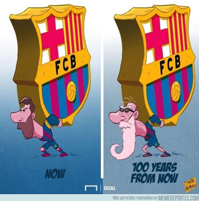 1100251 - Messi no podrá sostener al Barça eternamente, por @goalglobal