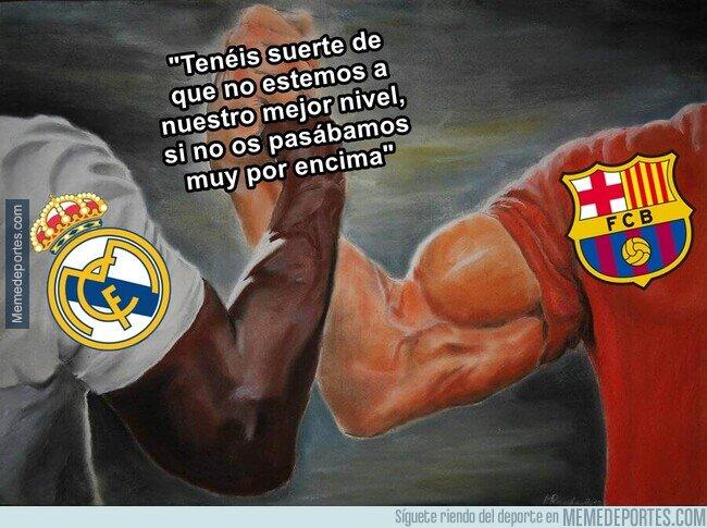 1100324 - Madridistas y culés tienen una frase en común