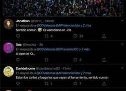Enlace a Liada máxima de este medio valenciano al poner este tuit antes del Valencia-Atalanta que se jugará a puerta cerrada por el coronavirus