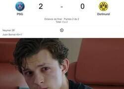 Enlace a Mientras tanto los hinchas del Dortmund
