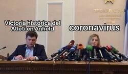Enlace a El coronavirus ha hecho que no se hable tanto de la gesta rojiblanca