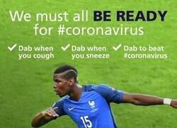 Enlace a La campaña que usa el Dab de Pogba para contener el coronavirus