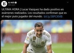 Enlace a ¡Lucas Vazquez dió positivo!