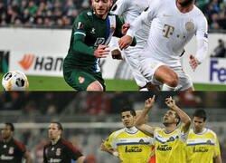 Enlace a Cuando los equipos humildes juegan en Europa