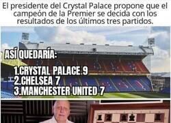 Enlace a Tontos no son los del Crystal Palace, por @cabrodeportes