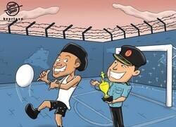 Enlace a Ronaldinho, campeón de la Copa Lechón, por @koortoon