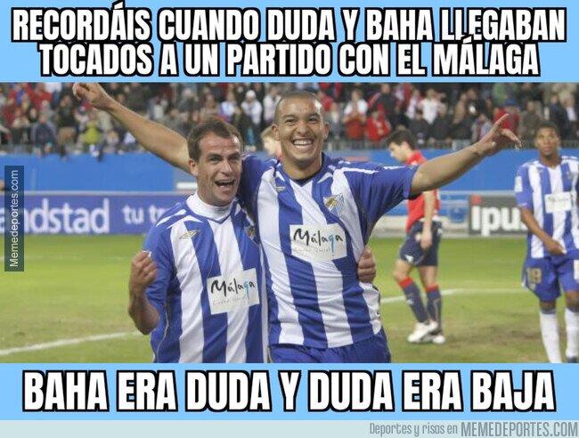 1101075 - Qué recuerdos me traen Duda y Nabil Baha en el Málaga