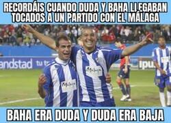 Enlace a Qué recuerdos me traen Duda y Nabil Baha en el Málaga