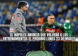 Enlace a En Nápoles ya no aguantan más la cuarentena