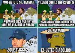 Enlace a Neymar lo tenía todo planeado