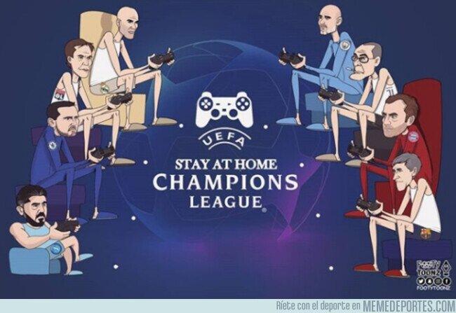 1101204 - Así deberán jugar la Champions, por @footytoonz
