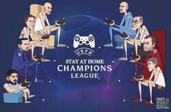 Enlace a Así deberán jugar la Champions, por @footytoonz