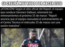 Enlace a En 4 días el Napoli volverá a los entrenamientos. Ellos solos y absolutamente nadie más