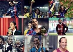 Enlace a No en su mejor momento, pero Ronaldinho cumple hoy 40 años. Felíz cumpleaños, figura.