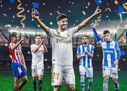 Enlace a Asensio, campeón de #LaLigaSantanderChallenge, por @brfootball
