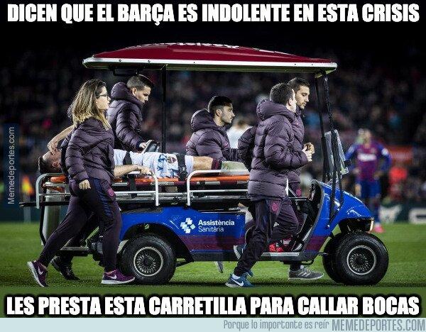 1101601 - El Barça dando la cara en tiempos de crisis