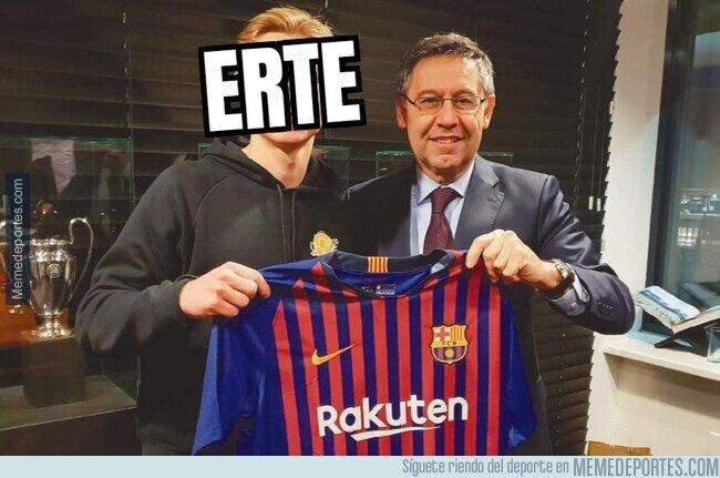 1101650 - El nuevo fichaje del Barça. La directiva no se puede permitir nada mejor...