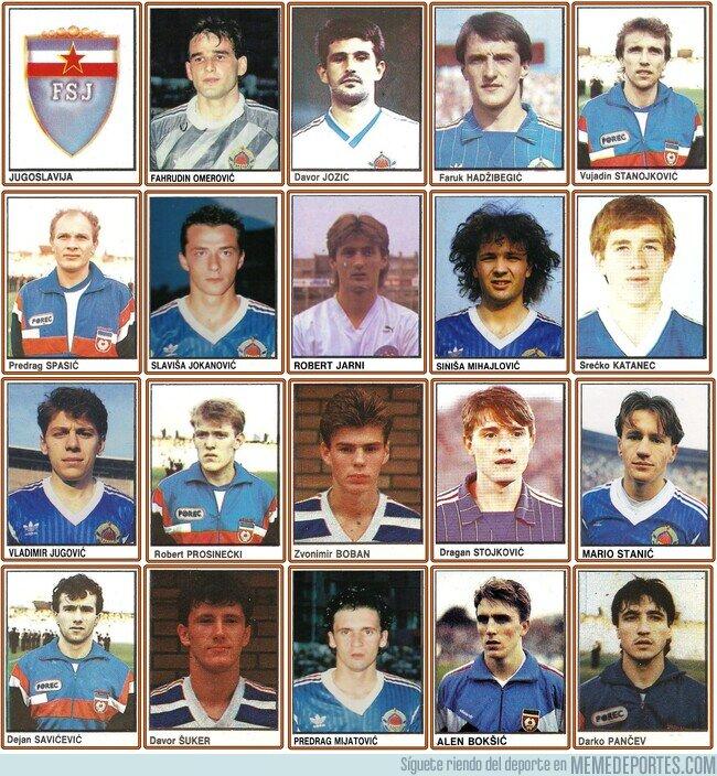 1101667 - 1992 y el ultimo equipo de yugoslavia! Tremenda selección