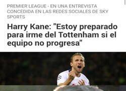 Enlace a ¡Cuidado Spurs! Harry Kane amenaza con irse