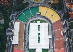 Enlace a El estadio del Santos, usado como hospital provisional. La imagen de lo que ha sido este 2020.
