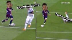 Enlace a Boateng se salta el confinamiento como Messi le saltó a él