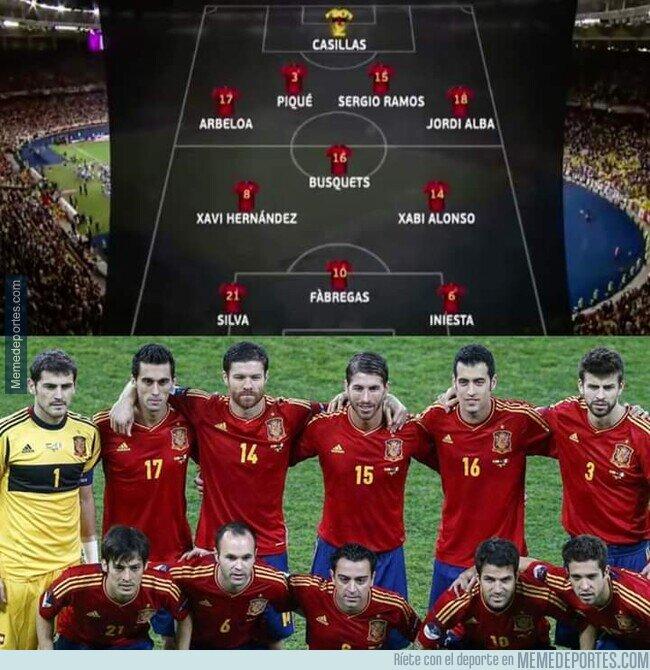 1102158 - Quién diría que con sólo defensa y mediocampo se podría ganar una Eurocopa