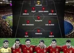 Enlace a Quién diría que con sólo defensa y mediocampo se podría ganar una Eurocopa