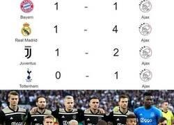 Enlace a El Ajax que casi hace historia