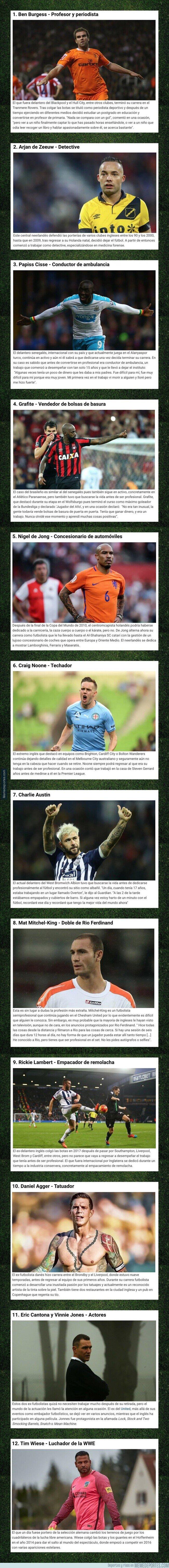 1102192 - Las profesiones más raras a la que se dedican estos ex-futbolistas famosos