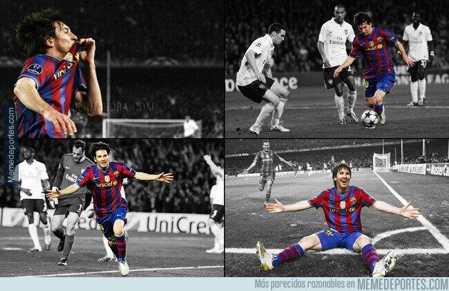 1102209 - Y ya hace 10 años de aquel póker de Messi al Arsenal.