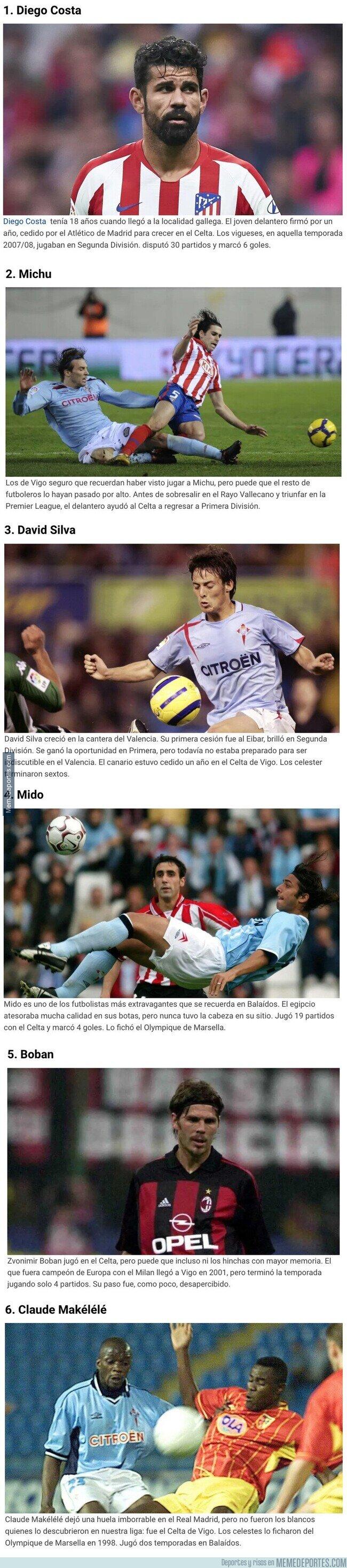 1102298 - Los grandes futbolistas que no recordabas que jugaron en el Celta