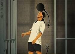 Enlace a Ronaldinho sale de la cárcel, por @hakimbezri