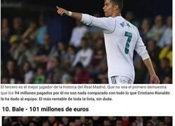 Enlace a El once ideal de los fichajes más caros de la historia del Real Madrid