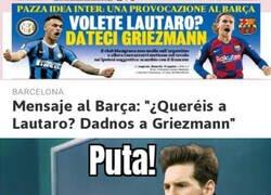 Enlace a Seguro que Messi firmaría con los ojos cerrados