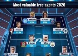 Enlace a Espectacular: El 11 ideal de jugadores que quedan libres este verano, por Transfermarkt