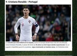 Enlace a El once ideal de Europa eligiendo un futbolista por país
